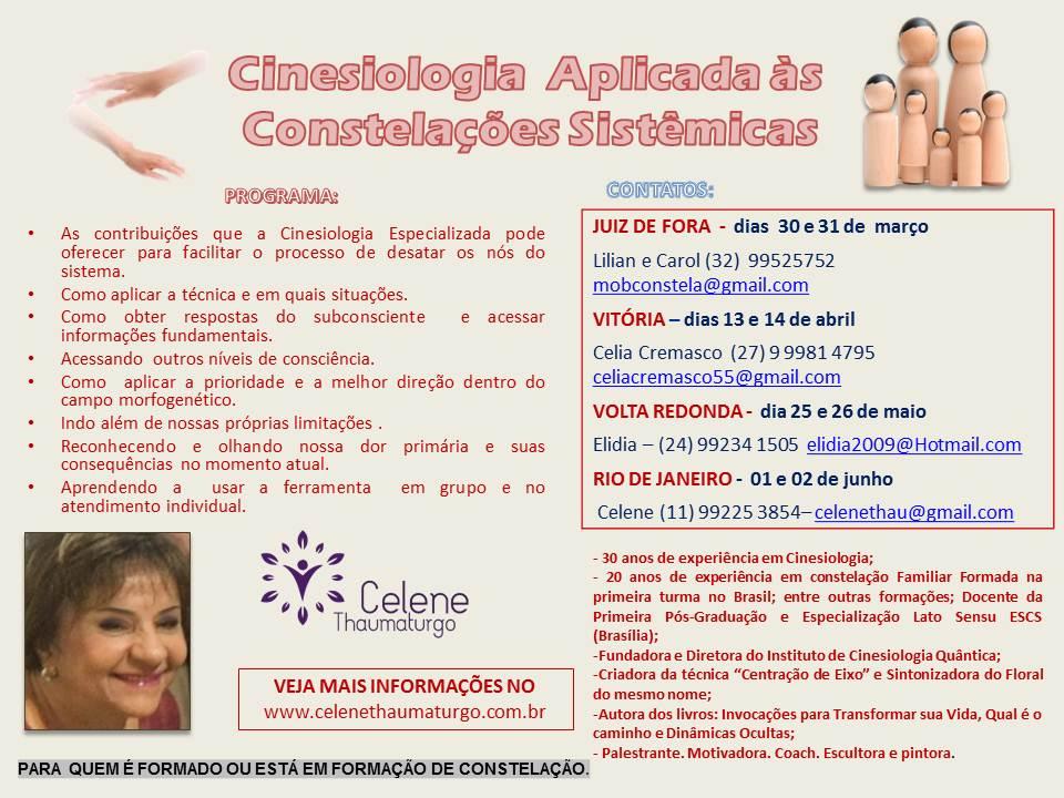 BRASIL Cinesiologia Aplicada às Constelações Sistêmicas